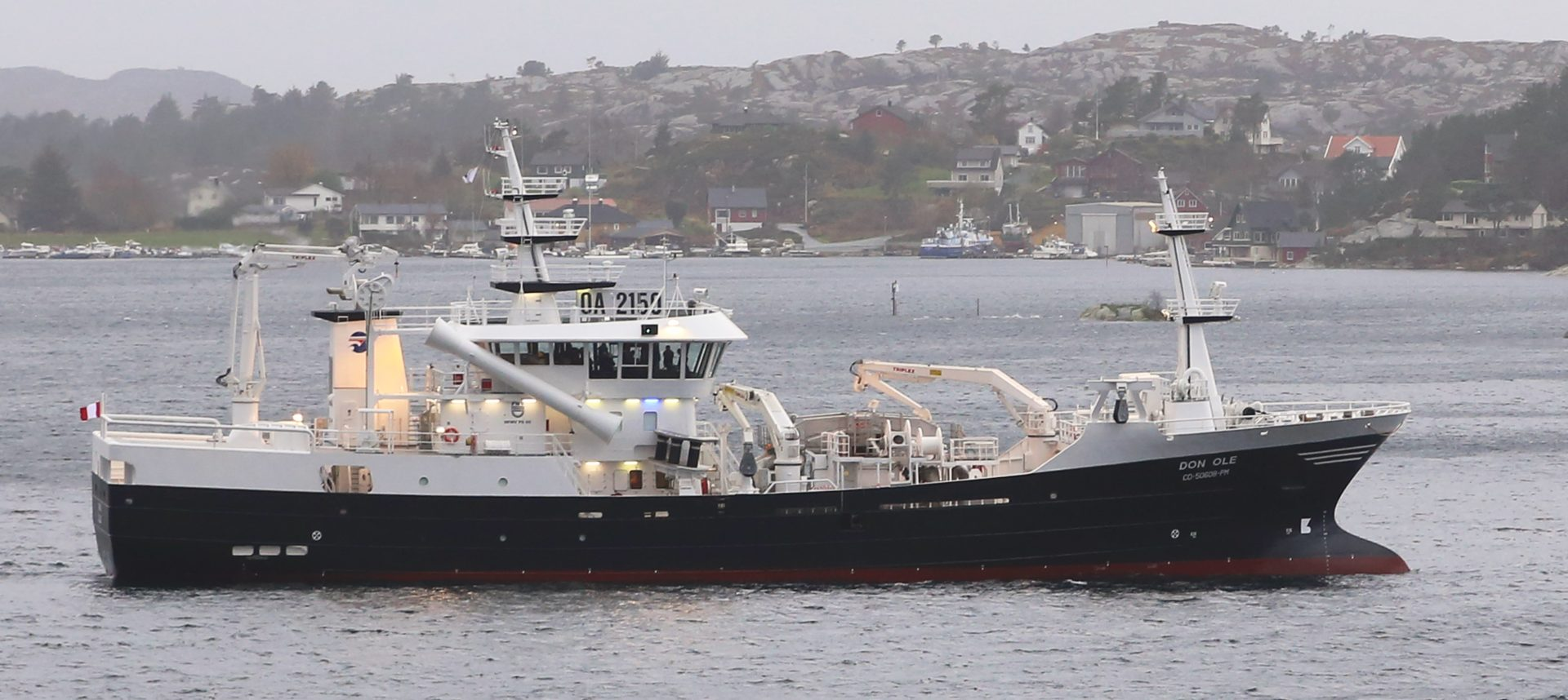 stresset laks om bord i brønnbåt